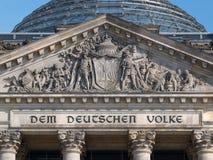 Die deutschen Leute Lizenzfreies Stockbild