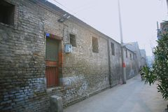 Die dingen in de oude stad van Luoyang royalty-vrije stock foto