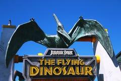 Die Dinosaurier-Fahrt Lizenzfreie Stockfotos