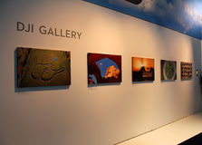 Die DJI-Galerie Lizenzfreies Stockbild