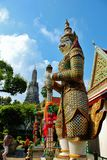 Die Dämonstatue Wat Arun Stockbilder