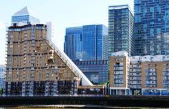 Die Docks von London lizenzfreie stockfotografie