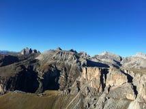 Die Dolomit stockfotografie