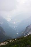 Die Dolomitberge Stockbilder