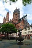 Die Dom in Mainz Stockbilder