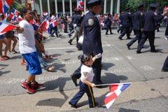 Die 2014 Dominikaner-Tagesparade in Manhattan 3 Lizenzfreie Stockfotos