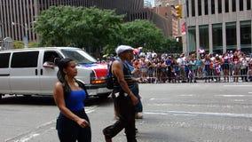 Die 2014 Dominikaner-Tagesparade in Manhattan 7 Lizenzfreie Stockfotos
