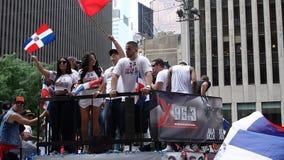 Die 2014 Dominikaner-Tagesparade in Manhattan 12 Lizenzfreie Stockfotografie
