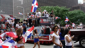 Die 2014 Dominikaner-Tagesparade in Manhattan 15 Stockfotografie