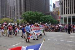 Die 2014 Dominikaner-Tagesparade in Manhattan 18 Stockfoto
