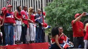 Die 2014 Dominikaner-Tagesparade in Manhattan 40 Lizenzfreie Stockfotografie