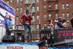 Die dominikanische Tagesparade 2015 Bronx 66 lizenzfreie stockfotos