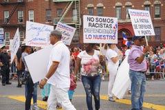 Die dominikanische Tagesparade 2015 Bronx 98 lizenzfreies stockbild
