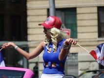 Die dominikanische Tagesparade 2016 Bronx 5 stockfoto