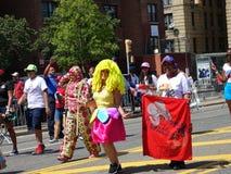 Die dominikanische Tagesparade 2016 Bronx 35 lizenzfreie stockfotos