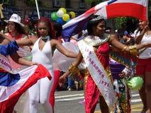 Die dominikanische Tagesparade 2016 Bronx 61 stockbild