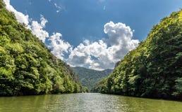 Die Donau stockbild