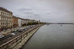 Die Donau Budapest Stockbild