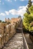 Die Dormitions-Abtei in Jerusalem Stockfotos