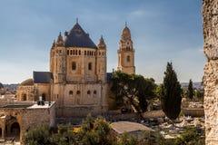 Die Dormitions-Abtei in Jerusalem Lizenzfreie Stockfotos