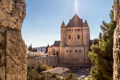 Die Dormitions-Abtei in Jerusalem Stockfoto