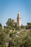 Die Dormitions-Abtei in Jerusalem, Israel Stockfotos