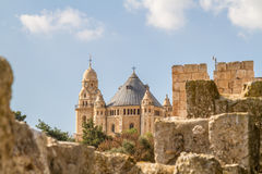 Die Dormitions-Abtei in Jerusalem, Israel Stockfoto