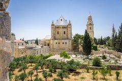 Die Dormitions-Abtei in Jerusalem, Israel Lizenzfreie Stockfotografie