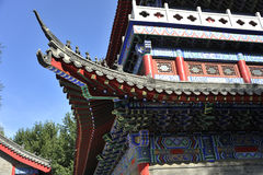 Die Drachekönig-Tempelarchitekturdetails Lizenzfreies Stockbild