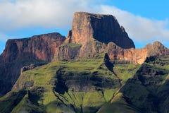 Die Drachenberge-Berge stockfotos