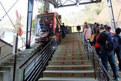 Die Drahtseilbahn Kachi Kachi stockbilder