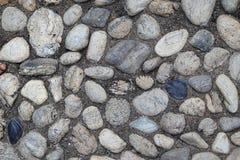 Die Draufsicht der Steine für Hintergrund Lizenzfreies Stockbild