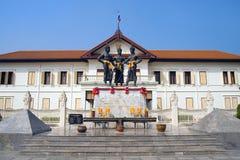Die drei Könige Monument Stockbilder