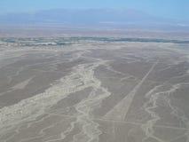 Die Dreiecke, Nazca-Linien Stockbilder