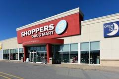 Die Drogen-Handelszentrum des Käufers in Kanata, Ontario lizenzfreie stockfotos