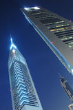 Die Dubai-Emirat-Kontrolltürme in Dubai Lizenzfreie Stockfotos