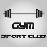 Die Dummkopfikone Bodybuildingsymbol Stockfotos