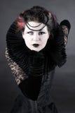 Die dunkle Königin Stockfotografie