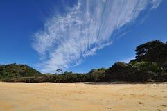 Die Durchgehenwolke Stockbilder
