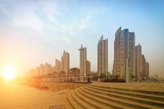 Die Ecke der modernen Stadt Lizenzfreie Stockbilder