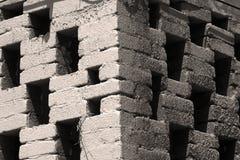 Die Ecke des Steins Stockfotos