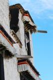 Die Ecke von Potala-Palast, XiZang Lizenzfreies Stockbild