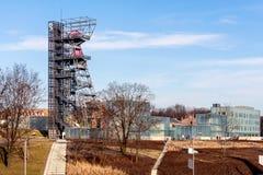 Die ehemalige Kohlengrube Katowice Lizenzfreie Stockfotos