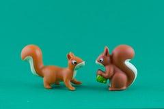 Die Eichhörnchen-Familie Lizenzfreie Stockfotografie
