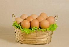 Die Eier Stockbild