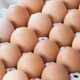 Die Eier im Paket Lizenzfreie Stockbilder