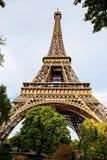 Die Eiffelturmstruktur, Paris Lizenzfreie Stockfotografie