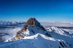 Die Einbuchtung de Burgin, Haute Savoie lizenzfreies stockfoto