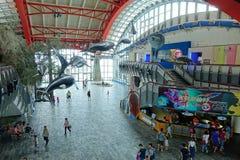 Die Eingangshalle zu nationalen Marine Biology Museum Stockfoto