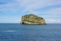 Die einsame Insel Lizenzfreie Stockfotos